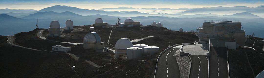 La Silla, an ESO observatory location, the home of the BlackGem Telescope Array