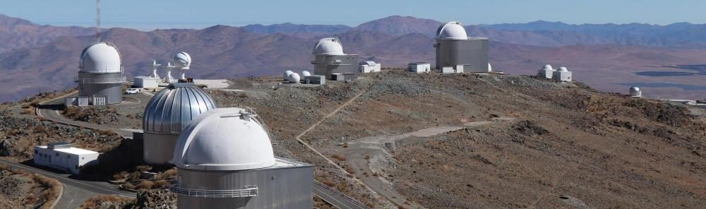 La Silla, an ESO observatory location, the home of the BlackGem Telescope Array