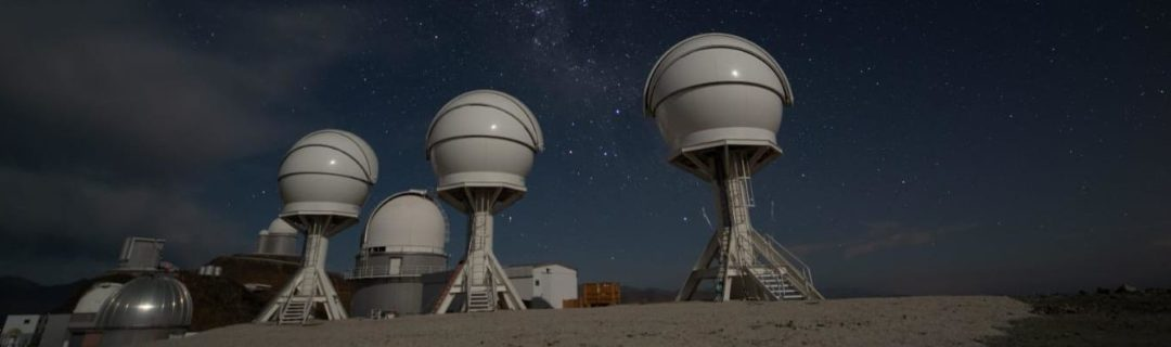 The Sutherland Observatory in South Africa, the home of MeerLicht, the prototype for the BlackGem Telescope Array